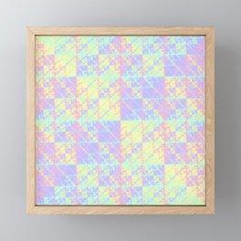 Holographic Framed Mini Art Print