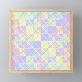 Holographic Framed Mini Art Print