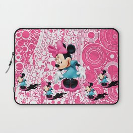 Minnie Mouse Cartoon Laptop Sleeve