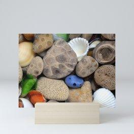 Petoskey Stones Mini Art Print