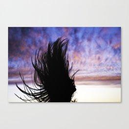 JUMPING BEAN Canvas Print
