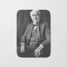 Thomas Edison Bath Mat