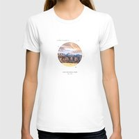 parks T-shirts featuring National Parks: Zion by Roadtrippers