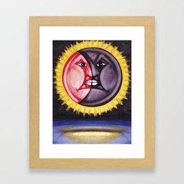 ECLIPSE ME Framed Art Print