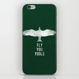 fly you fools iPhone Skin