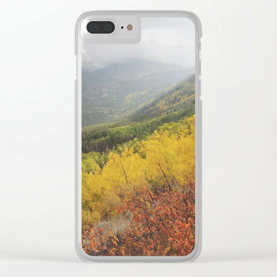 Rocky Mountain Colors Clear iPhone Case