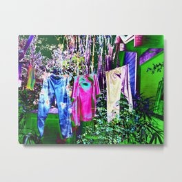 Psychedelic Hang Out  Metal Print