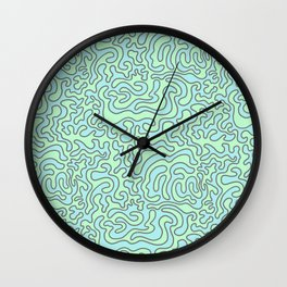 Wacky Pattern Wall Clock