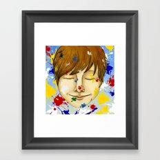 The colorful world Framed Art Print