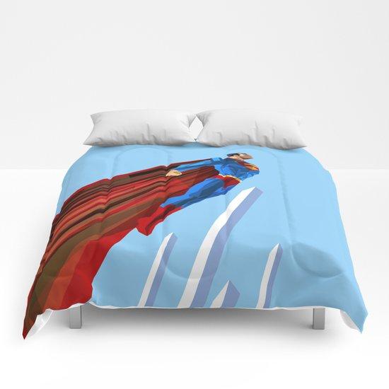 Man Up (blue steel variant) Comforters