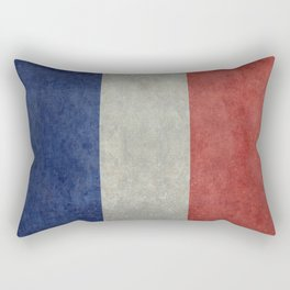 National Flag of France Rectangular Pillow