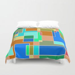 Abstract #927 Duvet Cover