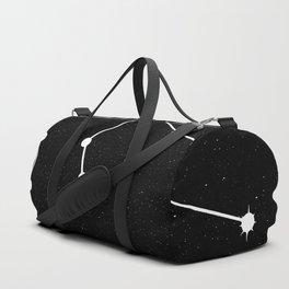 AQUARIUS (BLACK & WHITE) Duffle Bag
