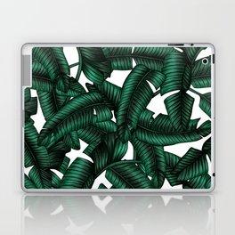 Banana leaves pattern. Laptop & iPad Skin