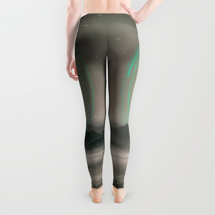 Spinning Out of Nothingness Leggings