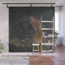 Edward Robert Hughes's Midsummer Eve Wall Mural