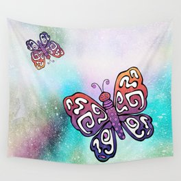 Fly Fly Butterfly Wall Tapestry