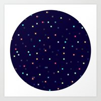 constellations Art Prints featuring Constellations by Jenna Mhairi