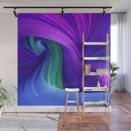 Twisting Forms #3 Wall Mural