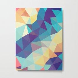 Coral Reef Tris Metal Print