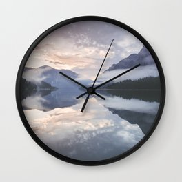 Mornings like this - Landscape and Nature Photography Wall Clock