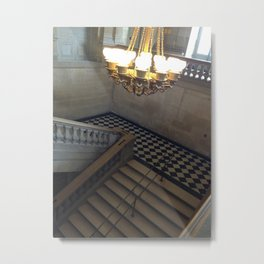 Palace of Versailles steps Metal Print