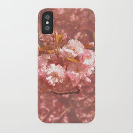 Pink Amongst The Trees iPhone Case