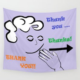 ASL Thank You! Wall Tapestry