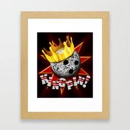 KINGPIN! Framed Art Print