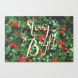 Merry & Bright! Canvas Print