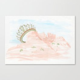 Queen of My wasteland Canvas Print