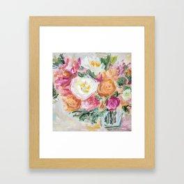Say Things Framed Art Print