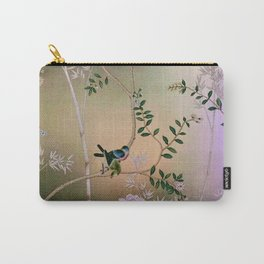Chinoiserie Style Carry-All Pouch