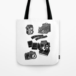 Weapons Of Mass creation - Photography (block print) Tote Bag