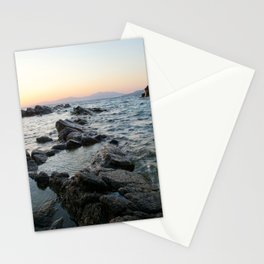 Rocks and Distant Mountains Stationery Cards