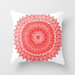 Sinful-Red Throw Pillow