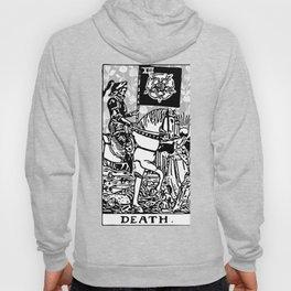 Floral Tarot Print - Death Hoody