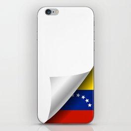 Venezuela under the cover iPhone Skin
