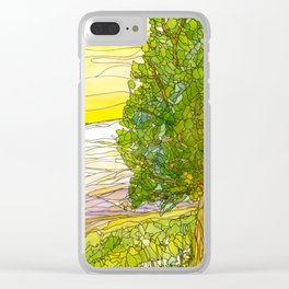 Mountains 17 Clear iPhone Case