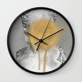 Busted 1 Wall Clock