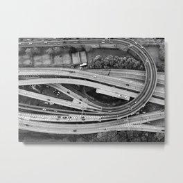 The Winding Road Metal Print