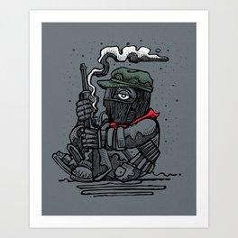 Sub Marcos Art Print