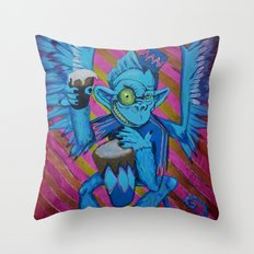 Chris' Flying Monkey Throw Pillow