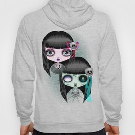 Zombie Doll The Dark Side Hoody