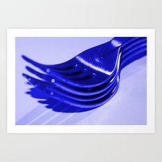 Four Forks Sake!! Art Print