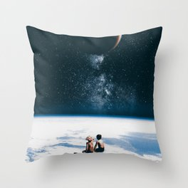 Together Alone Throw Pillow