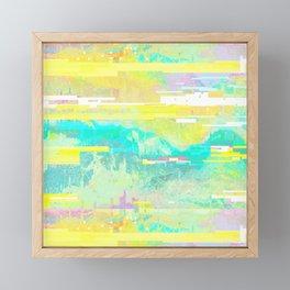 Code Framed Mini Art Print