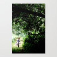 neverland Canvas Prints featuring Neverland by NishaJayne