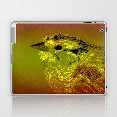 Amber Bird Laptop & iPad Skin