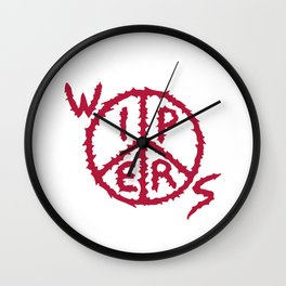 Wipers Punk Band Wall Clock